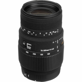 Sigma 70-300mm F4-5.6 DL For Canon EF