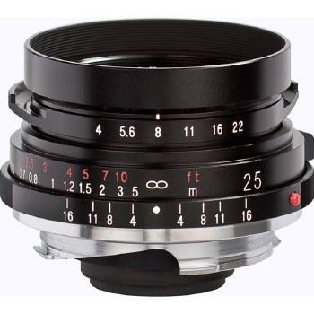 Voigtlander 25mm F4.0 Color Skopar Pancake For Leica M