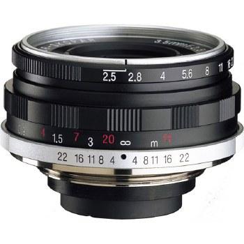 Voigtlander 35mm F2.5 Color Skopar Pancake II For Leica M