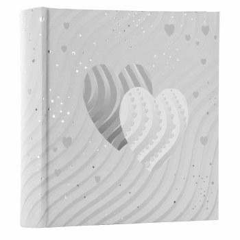 Goldbuch Silver Hearts Photo Album 10x15cm 200 Prints