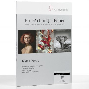"Hahnemuhle Photo Rag Bright White 310 gsm 24"" Roll 0.61 x 12m"