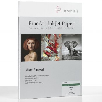 """Hahnemuhle Photo Rag Ultra Smooth 305 gsm 17"""" Roll 0.43 x 12m"""