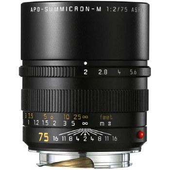 Leica  75mm F2 APO-Summicron-M ASPH.