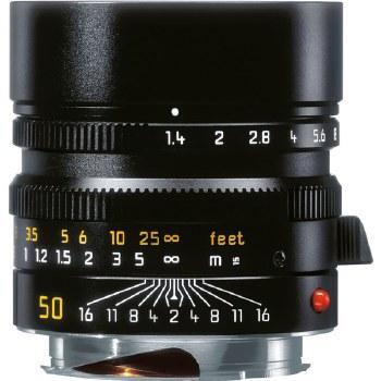 Leica 50mm F1.4 M Summilux Black