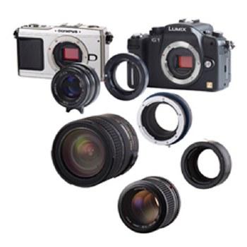 Novaflex Adapter For Nikon F Lens on Fujifilm XF