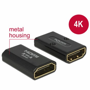 Delock Adapter HDMI-A Female > HDMI-A Female Gender Changer
