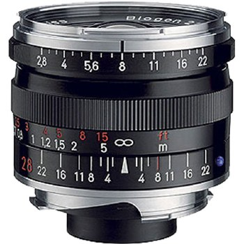 Zeiss 28mm F2.8 Biogon T* ZM Silver For Leica M