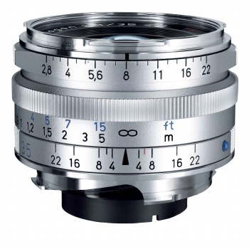 Zeiss 35mm F2.8 Biogon T* ZM Silver For Leica M