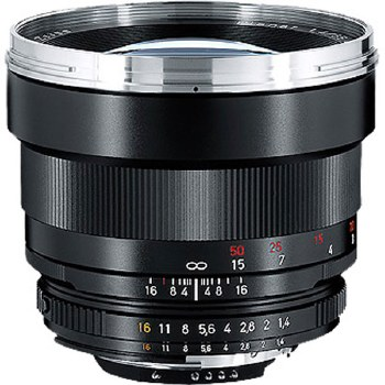 Zeiss 85mm F1.4 Planar T* ZF For Nikon F