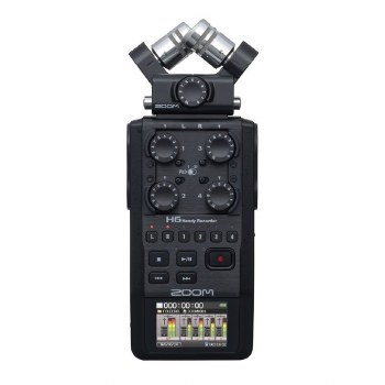 Zoom H6 Black Handy Recorder