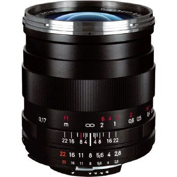 Zeiss 25mm F2.8 Distagon T* ZE For Canon EF