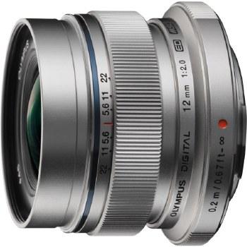 Olympus ED  12mm F2.0 M.Zuiko Digital Silver Lens
