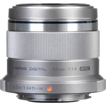 Olympus ED  45mm F1.8 M.Zuiko Digital Silver Lens