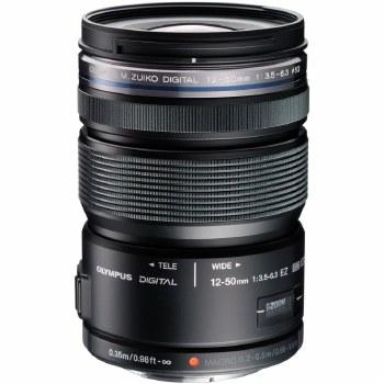 Olympus ED 12-50mm F3.5-6.3 M Black