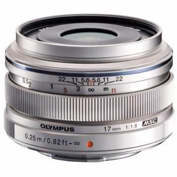 Olympus ED-M 17mm F1.8 M.Zuiko Silver