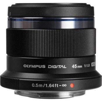 Olympus ED-M 45mm F1.8 M.Zuiko Digital Black