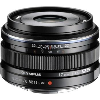 Olympus ED-M 17mm F1.8 M.Zuiko Black