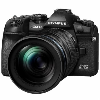 Olympus OM-D E-M1 Mark III Black Camera with 12-100mm F4 IS PRO Lens