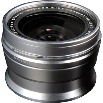 Fujifilm WCL-X100 Wide Conversion Lens Silver