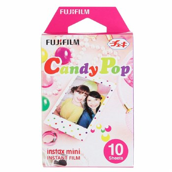 Fujifilm Instax Mini Candy Pop Colour Film