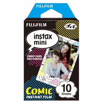 Fujifilm Instax Mini Comic Colour Film