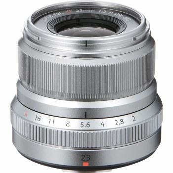 Fujifilm XF 23mm F2 R WR Silver
