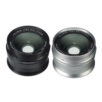 Fujifilm WCL-X100II Wide Conversion Lens Silver