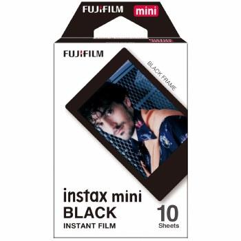 Fujifilm Instax Mini Colour Film with Black Frame