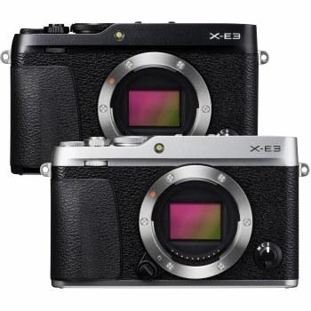 Fujifilm X-E3 Silver with XF 18-55mm F2.8-4 R LM OIS