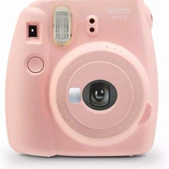 Fujifilm Instax Mini 9  Rose Pink  (inc 10 Shots)