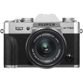 Fujifilm X-T30 Silver with XC 15-45mm F3.5-5.6 OIS PZ