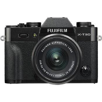 Fujifilm X-T30 Black with XC 15-45mm F3.5-5.6 OIS PZ