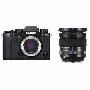 Fujifilm X-T3 Black with XF 16-80mm F4 R OIS WR