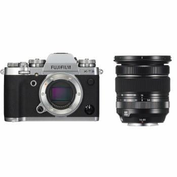 Fujifilm X-T3 Silver with XF 16-80mm F4 R OIS WR