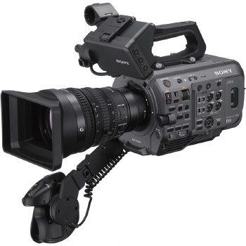 Sony PXW-FX9 With SEL 28-135mm F4G FE Power Zoom OSS