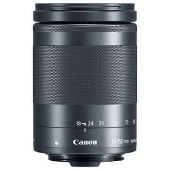 Canon EF-M 18-150mm F3.5-6.3 Black