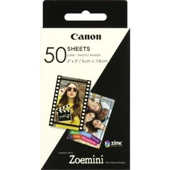 Canon Zoemini Photo Paper x50 Sheets
