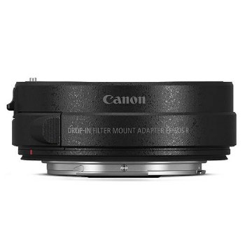 Canon Drop-In Filter Mount Adapter EF-EOS R With Adapter C-PL