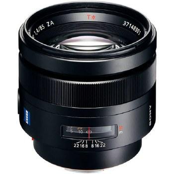 Sony SAL  85mm F1.4 ZA Planar T*