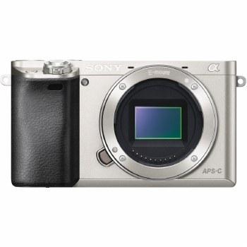 Sony A6000 ILCE Silver Camera Body