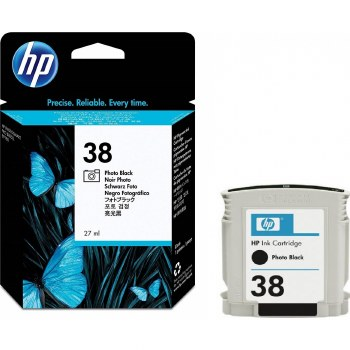 HP 38 Photo-Black