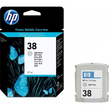 HP 38 Light Gray