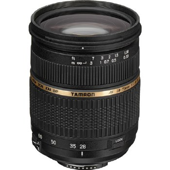 Tamron SP 28-75mm F2.8 XR Di For Canon EF