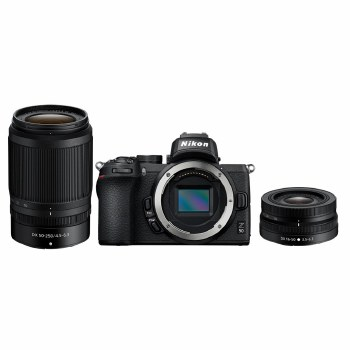 Nikon Z 50 with Z 16-50mm DX + Z 50-250mm DX Lenses