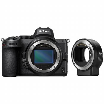 Nikon Z 5 with F to Z Mount Adapter