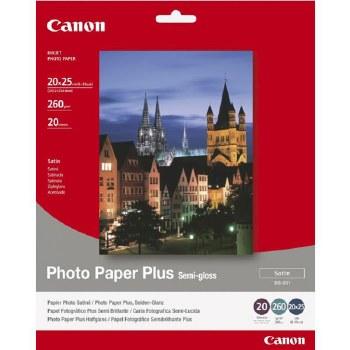 """Canon SG-201 Photo Paper Plus Semi-gloss 4X6"""" 50 Sheets"""