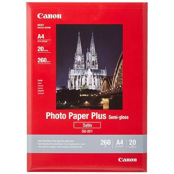 Canon SG-201 Photo Paper Plus Semi-gloss A4 20 Sheets