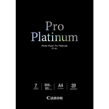 Canon PT-101 Photo Paper Pro Platinum A4 20 Sheets