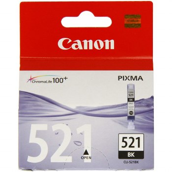 Canon CLI-521BK Black Ink