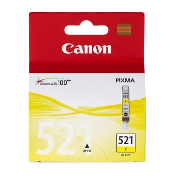 Canon CLI-521Y Yellow Ink